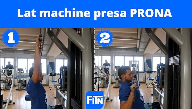 lat machine presa prona